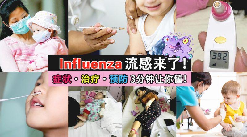 Influenza 流感的症状