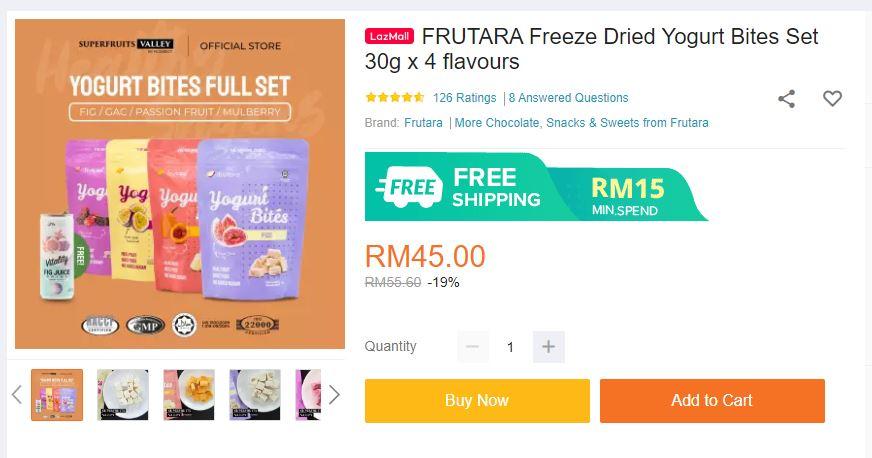 Frutara 4 Flavors