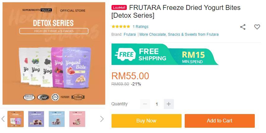 Frutara Berries Flavors