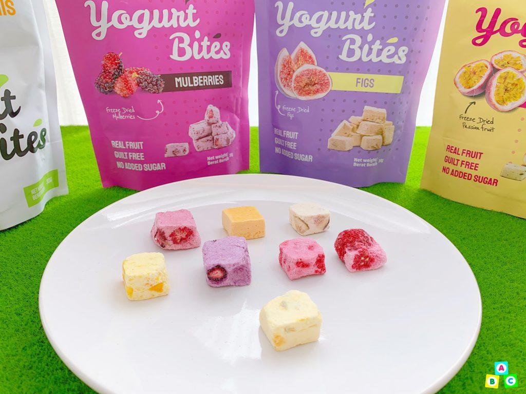 Superfruits Valley Frutara Yogurt Bites On Plate